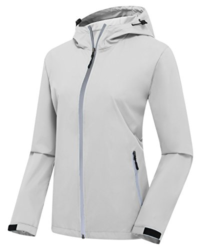 ZSHOW Women's Lightweight Skin Coat Outer Space Jacket with...