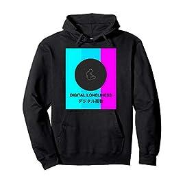 Aesthetic Vaporwave Hoodie Colorful Otaku Gift