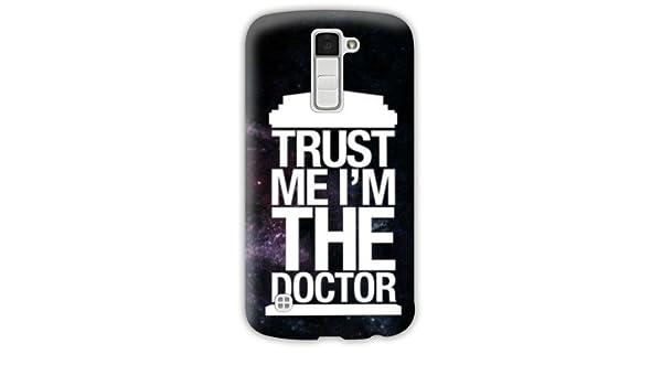 Amazon.com: Case Carcasa LG K10 Doctor Who - - trust N ...