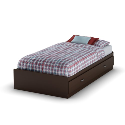 South Shore Logik Mates Bed with 2 Drawers, Twin 39-inch, ()
