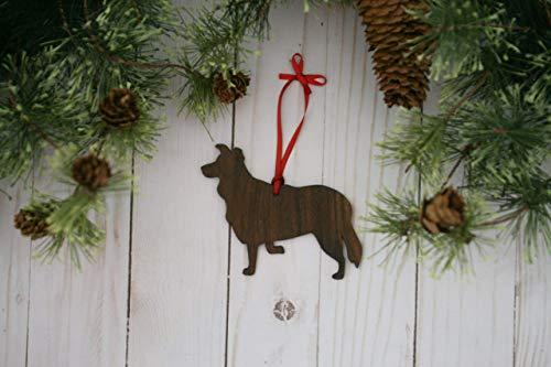 - Border Collie Dog Ornament
