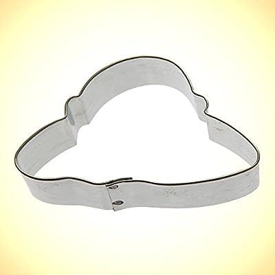 Foose Ladies Hat Cookie Cutter 3 in