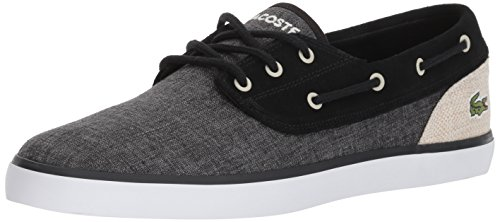Lacoste Men Jouer Deck Sneaker Black Canvas