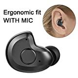 Bluetooth Headset, AngLink 0.13oz Only V4.1 Mini Bluetooth Earpiece Wireless Earpiece In-ear Bluetooth Earbuds with Microphone Mic Hands-free for iPhone Samsung and Other Smartphones