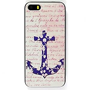 QYF English Anchors Pattern Hard Case for iPhone 6