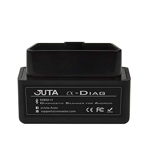 Juta α-Diag Bluetooth OBD2 Scanner OBDII Code Reader Diagnostic Interface Auto Tool for Android Only