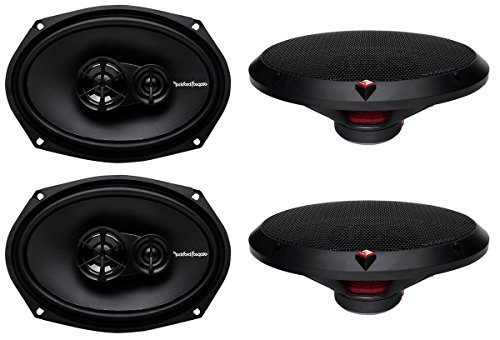 4 New Rockford Fosgate R169X3 6x9 260W 3 Way Car Coaxial Speakers Audio Stereo ()