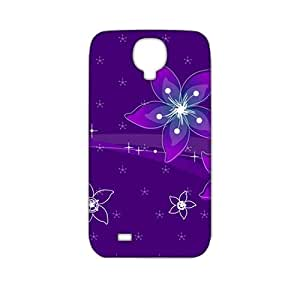 Evil-Store Purple flowers 3D Phone Case for Samsung Galaxy s4