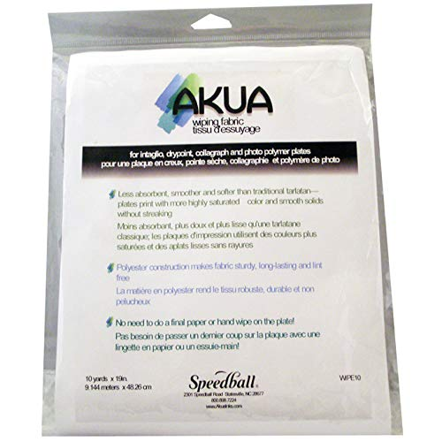 Akua Wiping Fabric for Cleaning Print Making Plates (WIPE10) ()
