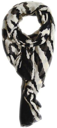 Zebra Print Chiffon Scarf - 8