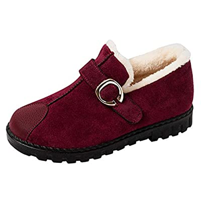 ???Watere??? Women's Boots, Booties for Women Winter Snowshoes Fashion Cotton Thickening Warm Short Boots Loafers Shoes