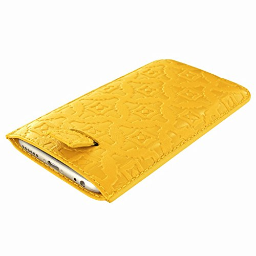 Piel Frama 690Y Etui rigide pour iPhone 6 Plus Jaune