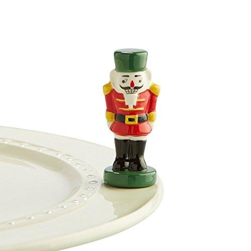 Nora Fleming Nutcracker Mini - The Magic of Christmas - Hand-Painted Ceramic Charm - A175