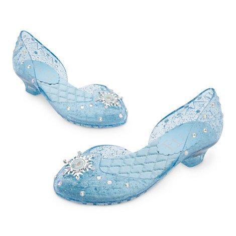 Chaussures Elsa De La Reine Des Neiges - Disney Pantoufle Taille Uk, 7/8 -- Eu, 24/26