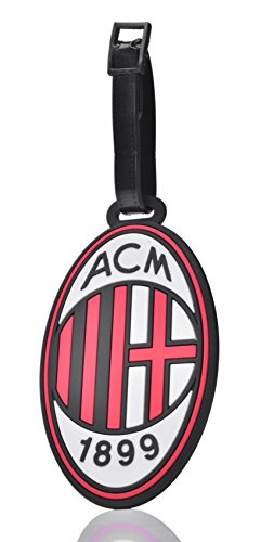 REINDEAR Soccer Team Football Club Logo Heavy Duty Baggage Travel Luggage ID Tag US Seller (A.C. Milan)