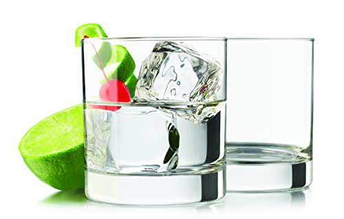 Heavy Base Rocks 4 piece set Drinking Glasses 11.7 oz]()