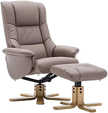 GFA The Florence, Swivel Recliner Chair & Matching Footstool