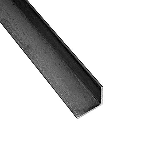 RMP Hot Roll Steel Structural Angle A36, Rounded Corners, 3 Inch x 3 Inch Leg Length, 3/16 Inch Wall, 24 Inch Length by RMP