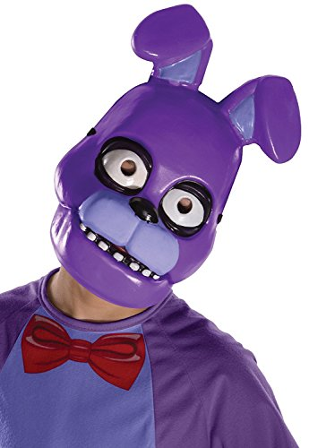 [Five Nights at Freddy's Bonnie Child's Half Mask] (Cheap Party Masks)