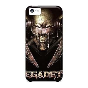 Bumper Hard Phone Cover For Iphone 5c With Custom Beautiful Metallica Skin ChristopherWalsh