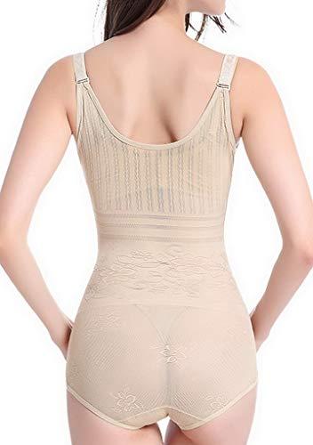 Shaper Bodysuit Corset Ventre Gaine Shapewear Plat 1 Couleur Amincissante Serre Gilet Acmede taille Body Minceur 01aqpqX