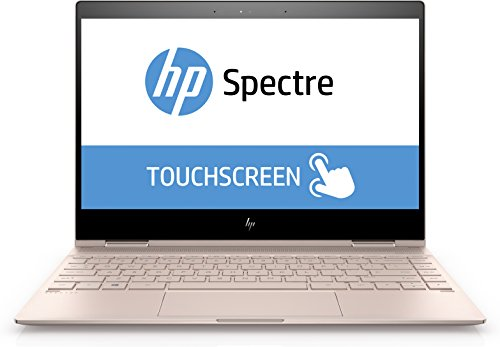 2018 HP Spectre Touch x360 13t-ae00 Rose Gold Convertible 8th Gen Quad Core Intel i7 up to 4.0GHz 16GB 512GB SSD 13.3in FHD Gorilla Glass (Renewed)