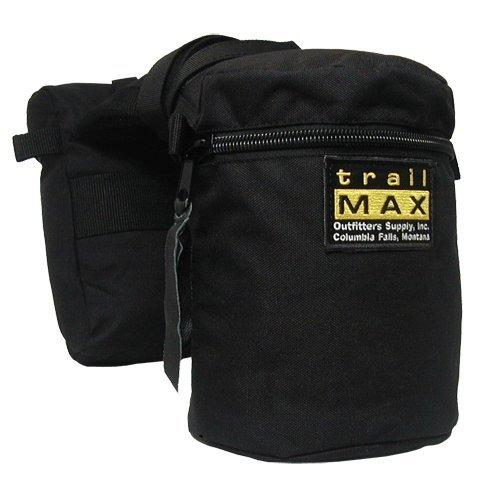 TrailMax Original Pommel Bags, Forest (Western Horn)