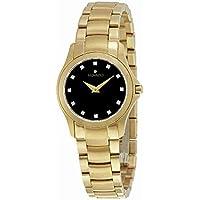 Movado 0607028 Masion Ladies Quartz Watch (Black)