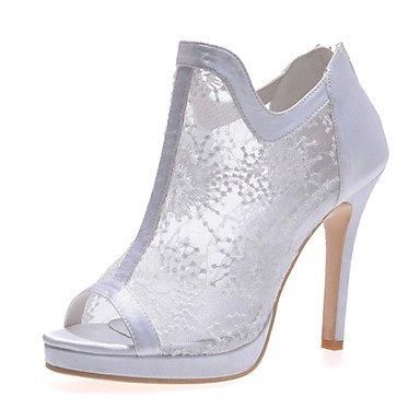 5 Black Ivory Fall CN35 Lace Summer Women'S UK3 Red Heel Wedding White US5 amp;Amp; Spring EU36 Stiletto 5 Party Evening w7UEv