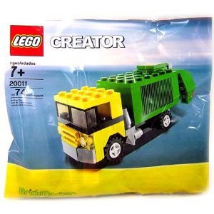 City Set Garbage Truck by Lego - 20011