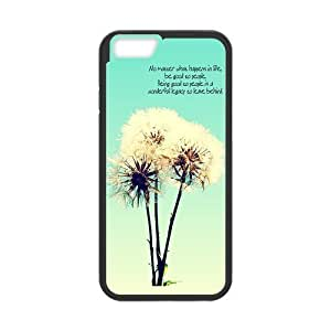 DaojieTM Generic Iphone 6 Protective Case -Dandelion Hardshell Cell Phone Cover Case for New Iphone 6 4.7 Inch