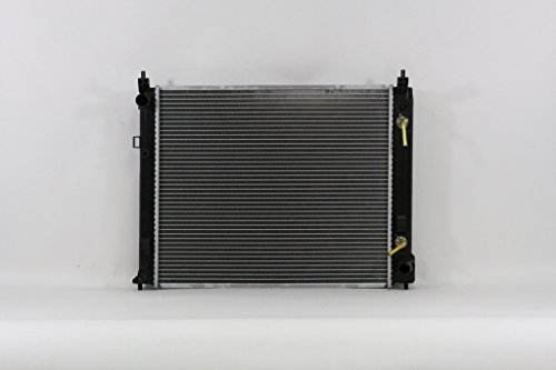 - Radiator - Pacific Best Inc For/Fit 13426 13-17 Nissan Versa Sedan CVT 14-17 Versa Note Automatic Transmission 4 Cylinder 1.6L Plastic Tank Aluminum Core
