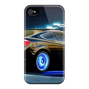 4/4s Scratch-proof Protection Case Cover For Iphone/ Hot Honda V6 Tuning Phone Case