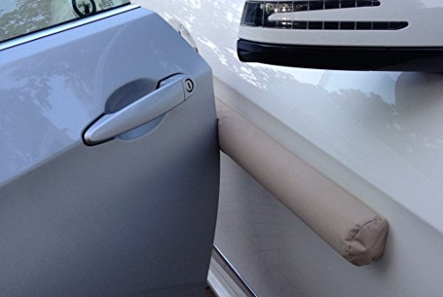 how to see minor dings in car door