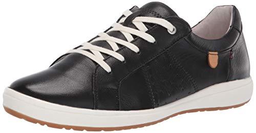 Josef Seibel Women's Caren 01 Sneaker Black 38 Medium EU (7-7.5 US)