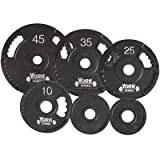G-2 Olympic Single Grip Thin Line Plate [Set of 2] Weight: 45 lbs