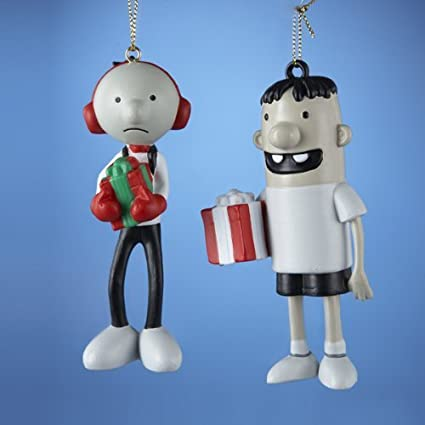 """Diary of a Wimpy Kid Christmas Figure Ornaments 3.75""""- ... - Amazon.com: Diary Of A Wimpy Kid Christmas Figure Ornaments 3.75"""
