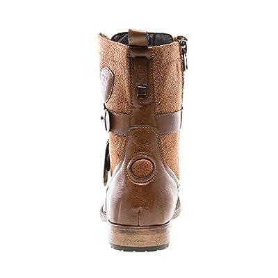 JUMP Men's Deploy Cap Toe Military Combat Boot: Shoes