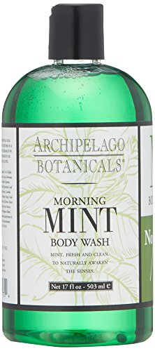 Archipelago Morning Mint Body Wash ,17 Fl Oz