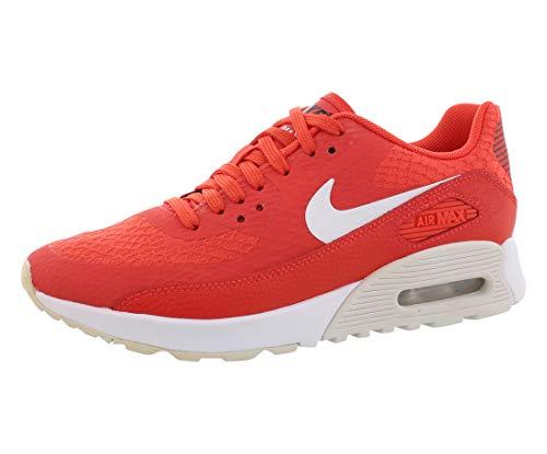 Nike Women's Air Max 90 Ultra 2.0 Max Orange/White/Black Running Shoe 6 Women US
