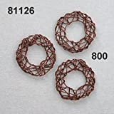 Rasp Nest Ring, 35 mm, Other, Brown, One Size