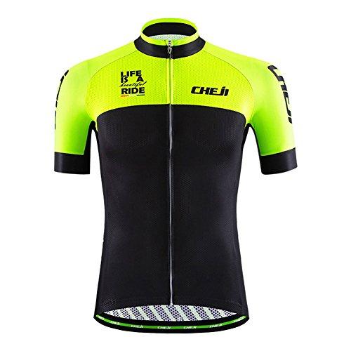 ノイズ摂氏度予知「LPATTERN 」サイクリングジャージ 自転車ウエア 半袖ウェアセット  反射素材 普段着にも 速乾吸汗 通気がいい メンズ  多色 【正規品】