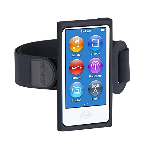 AGPtEK Armband for iPod Nano - 7th Generation / 8th Generation ( Black )