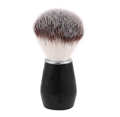 [Men's Shaving Brush, Anti-skid Wood Handle Superb Soft Nylon Hair Male Facial Shaving Razor Brush Barber Facial Cleaning] (Aragon Costume)