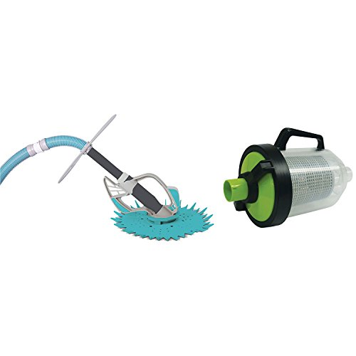 Kokido Butterfly Deluxe Automatic Vac Swimming Pool Vac Cleaner + Leaf Canister (Standard Leaf Canister)