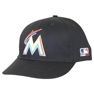 MLB Officially Licensed Miami Marlins Adjustable Baseball Hat Cap Lid Toque