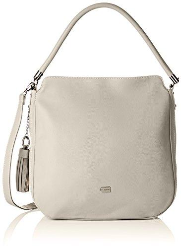 David Jones Cm3761 - Shoppers y bolsos de hombro Mujer Gris (L Grey)