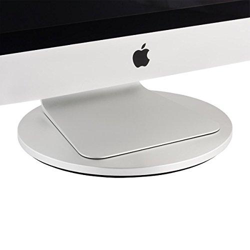 Just Mobile AluDisc 360-Degree Pedestal for iMac and Thunderbolt Displays (ST-666)
