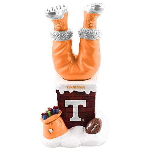 Forever Collectibles Tennessee Volunteers Chimey Legs Santa BobbleLegs Bobblehead NCAA