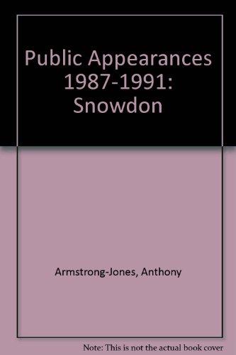 Blatant Appearances 1987-1991: Snowdon